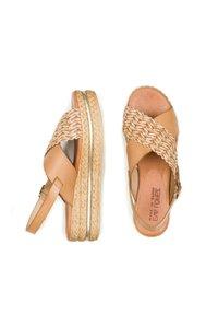 Eva Lopez - Platform sandals - cuir - 2