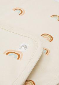 Lindex - SHAWL BLANKET RAINBOW UNISEX - Baby blanket - light beige - 2