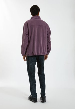 Fleece jumper - mauve