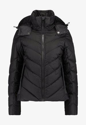 WHISTLER SLIM - Down jacket - dk black