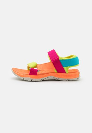 KAHUNA UNISEX - Walking sandals - pink/multicolor