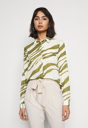 IHBIKKA - Button-down blouse - fir green