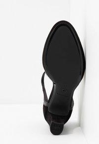 Tamaris - WOMS SLIP-ON - Platform heels - black - 6