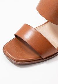 ALDO - FIELIA - High heeled sandals - cognac - 2