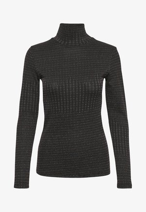 DHZOE - T-shirt à manches longues - black