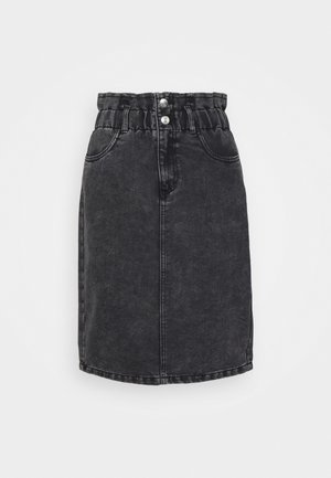 ONLMILLIE LIFE SKIRT - Denim skirt - grey denim