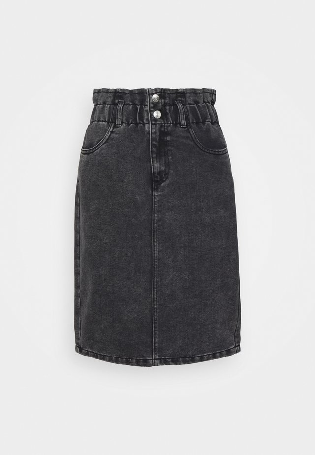 ONLMILLIE LIFE SKIRT - Jupe en jean - grey denim