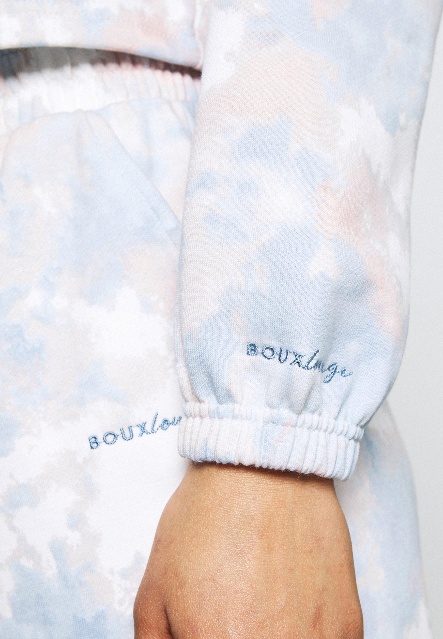 Women TIE DYE CROPPED HOODY - Pyjama top