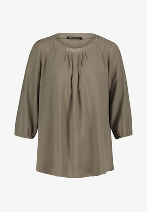 Blouse - dusty olive