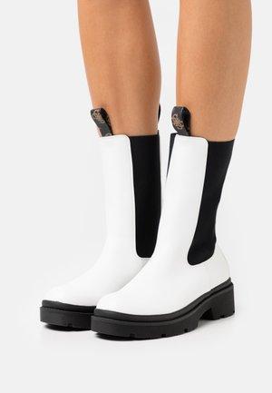 LORI - Platform boots - offwhite
