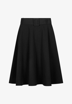 Pleated skirt - schwarz