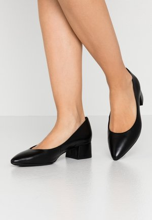 COURT SHOE - Classic heels - black antic