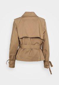 Bruuns Bazaar - LILJA SOFINE  - Summer jacket - roasted grey khaki - 1