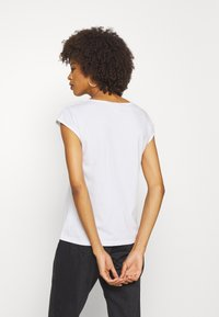 Anna Field - 2 PACK - Basic T-shirt - black/white - 2