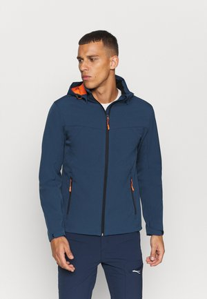 BIGGS - Soft shell jacket - blue