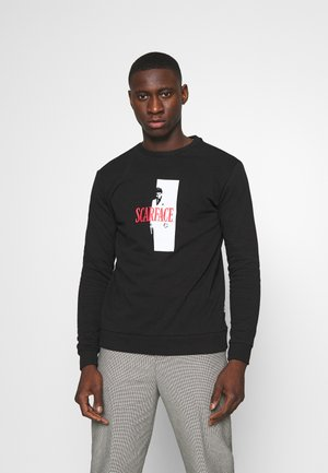 ONSSCARFACE CREW NECK  - Sweatshirt - black