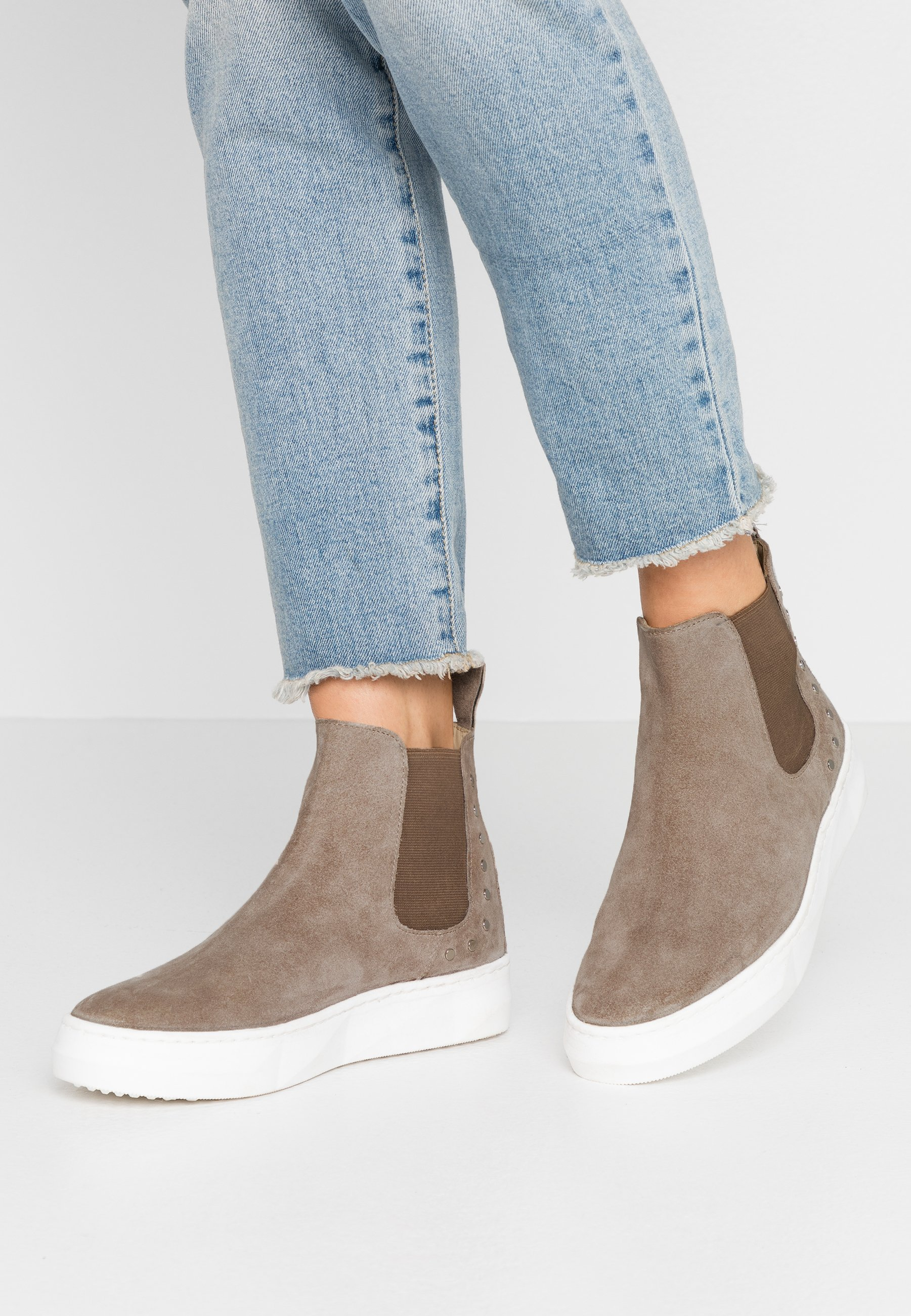 Up To Date Cheapest MAHONY BERN - Ankle boots - taupe | women's shoes 2020 oi239