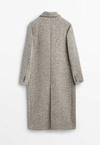 Massimo Dutti - Classic coat - grey - 1