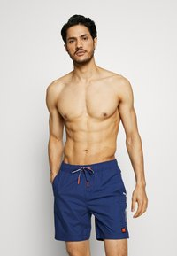 Superdry - SWIMSPORT - Swimming shorts - beechwater blue - 0