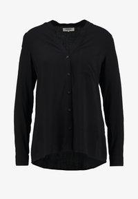 Zalando Essentials - Button-down blouse - black - 5