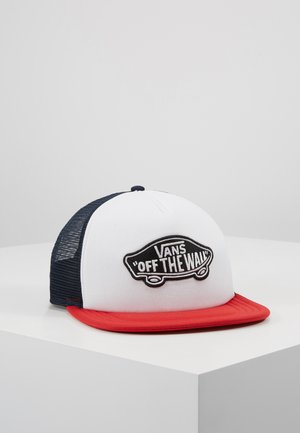 CLASSIC PATCH TRUCKER - Kšiltovka - racing red/white