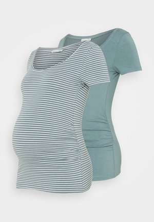 NURSING 2 PACK - Print T-shirt - Camiseta estampada - teal