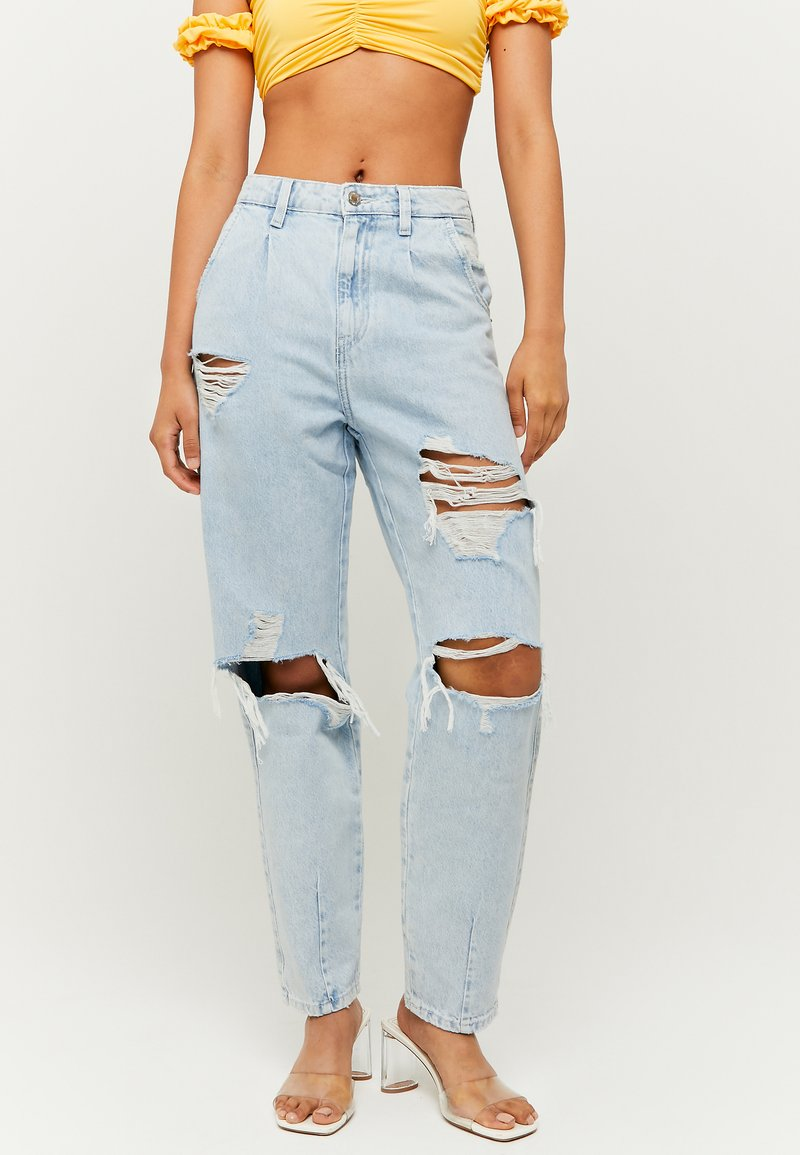 TALLY WEiJL - SLOUCHY - Relaxed fit jeans - blue