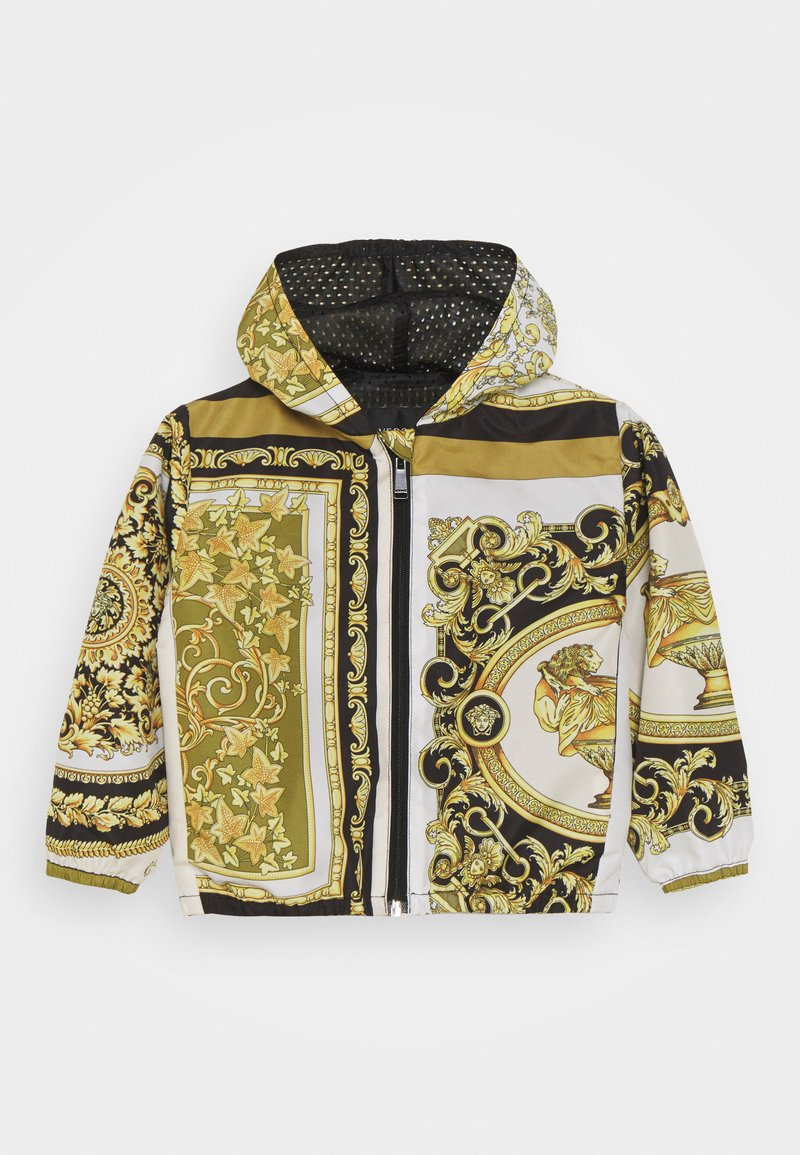 Versace - JACKET BAROQUE MOSAIC KIDS UNISEX - Light jacket - white/gold