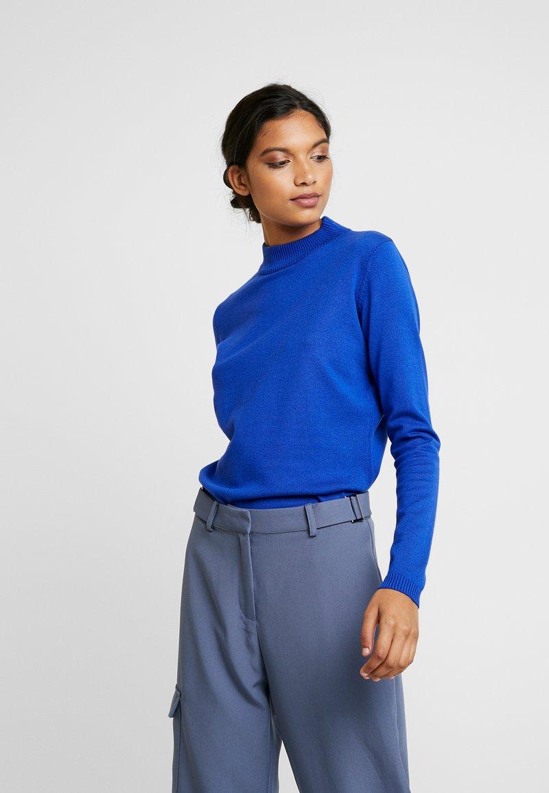 Soft Rebels - SRMARLA  - Stickad tröja -  nautical blue