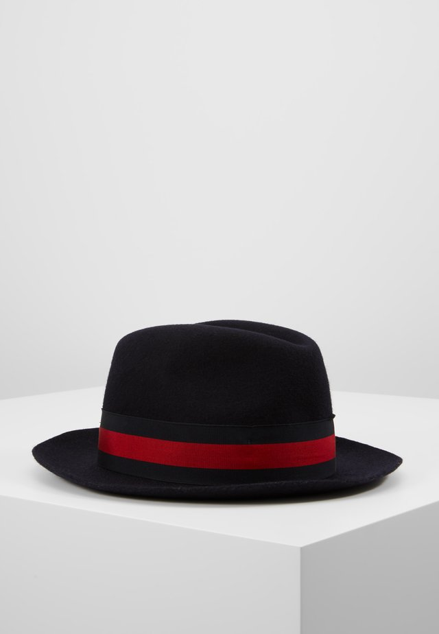 PADUA - Hat - ribbon navy/red