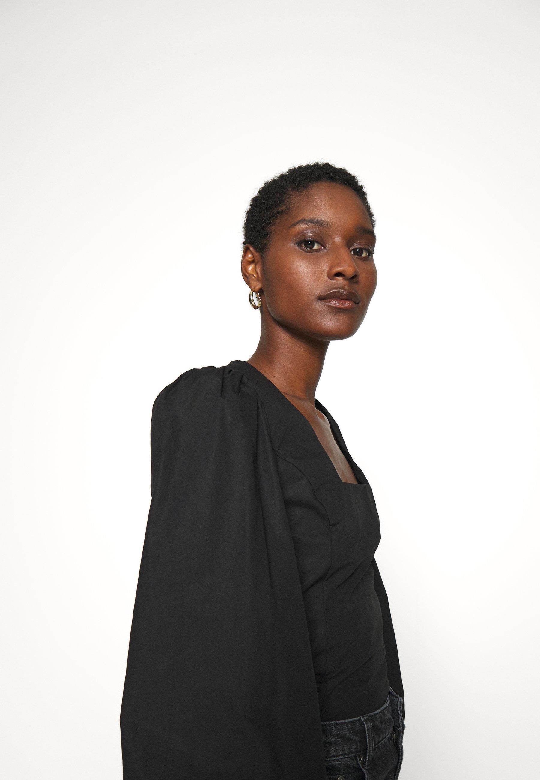Reliable Women's Clothing Gestuz ELVANAGZ BLOUSE  Blouse black uxtdPGQxY