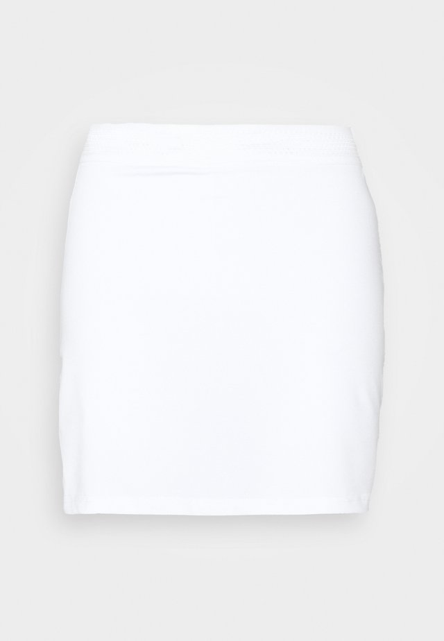 HYPERCOURT EXPRESS SKIRT - Sports skirt - white/cactus flower