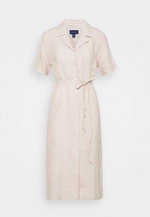 SHIRT DRESS - Blusenkleid - dry sand