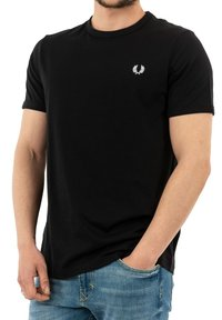 Fred Perry - T-shirt med print - noir - 3
