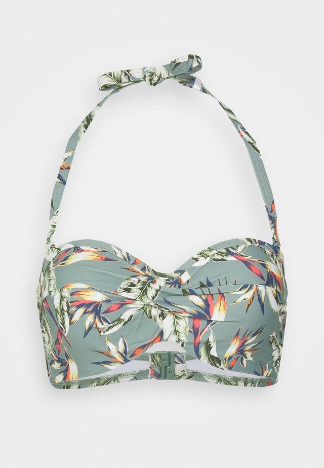 PANAMA BEACH - Bikinitop - light khaki