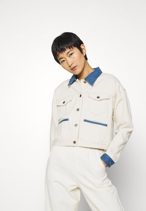 SIKA JACKET - Jeansjakke - off white