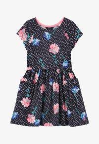 Tom Joule - Day dress - marineblau floral - 0