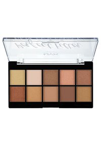 Nyx Professional Makeup - PERFECT FILTER SHADOW PALETTE - Paleta cieni - 1 golden hour - 1