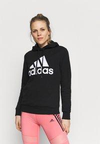 adidas Performance - Sweatshirt - black/white - 0