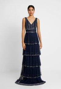 Lace & Beads Tall - MULAN LISHKY MAXI - Společenské šaty - navy - 0