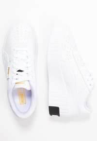 Puma - CALI WEDGE  - Joggesko - white/black - 5