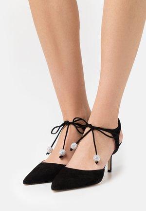 ORION  - Zapatos de salón con cordones - black