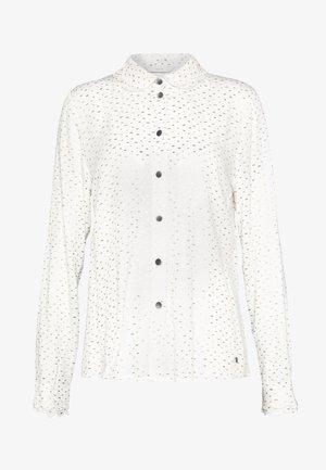 IRIDIANA - Button-down blouse - pristine