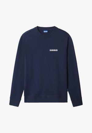 B-SURF CREW - Sweter - medieval blue
