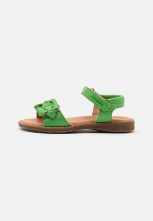 LORE FLOWERS - Sandals - green