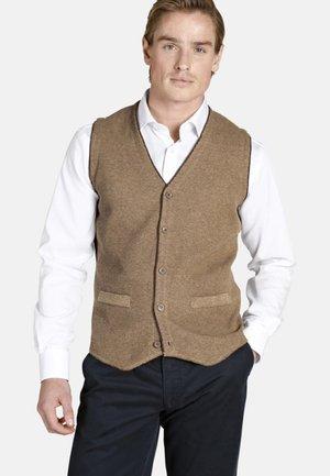 KEVAN - Waistcoat - beige