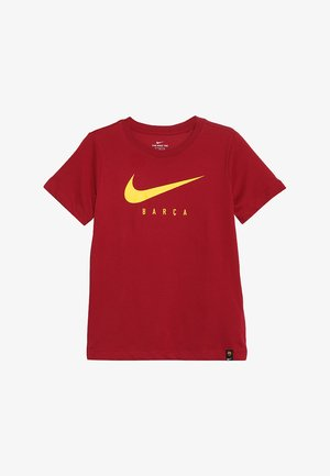 FC BARCELONA DRY TEE GROUND - T-shirt z nadrukiem - noble red