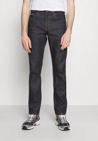 Nudie Jeans - GRITTY JACKSON - Vaqueros rectos - dark-blue denim - 0