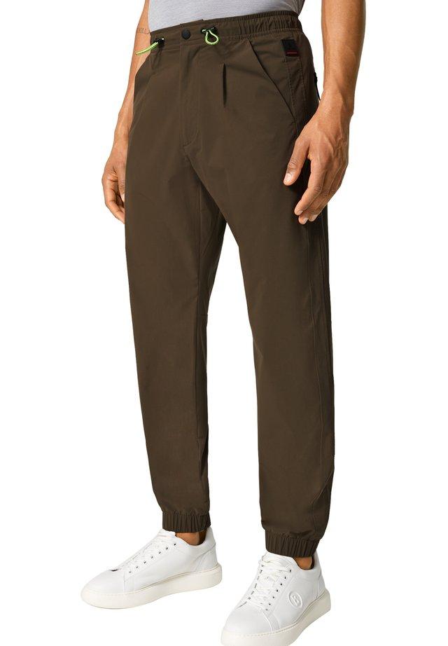 BORIS - Długie spodnie trekkingowe - oliv