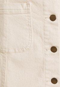 Vila - VIBARBARA GANDHIA SHORT - Mini skirt - natural melange - 2